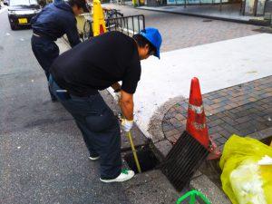 街頭清掃⑦