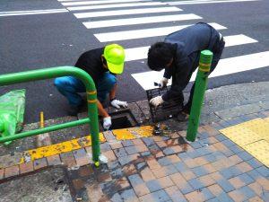 街頭清掃⑧